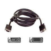Belkin™ PRO Series 10' HD-15 VGA Male/Female High-Integrity SVGA Monitor Extension Cable, Gray