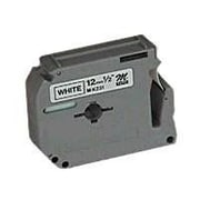 "Brother M231 1/2"" Label Tape, Black on White"