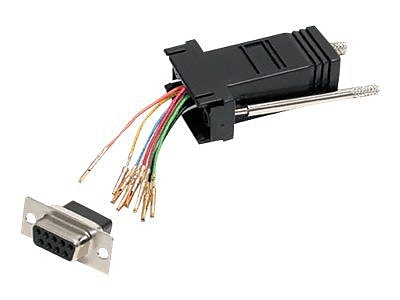 StarTech DB9 to RJ45 Modular Adapter F F