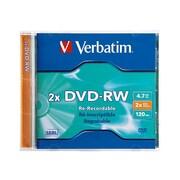 Verbatim® DVD-RW Rewritable Disc (94501)