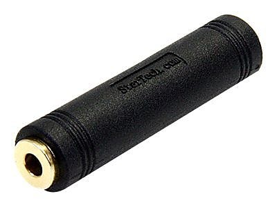 StarTech GCAUD3535FF 3.5mm to 3.5mm Audio Coupler Female to Female