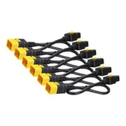 APC® 6' Locking Power Cord Kit, Black (AP8716S)