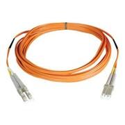 Tripp Lite N520 26' LC Male/Male Duplex 50/125 OM2 Multimode Fiber Optic Patch Cable, Orange