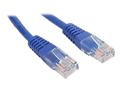 StarTech M45PATCH1BL 1ft Cat5e Blue Molded RJ45 UTP Patch Cable