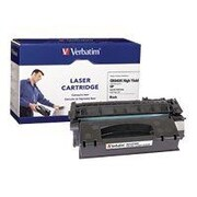Verbatim® 95385 Black 6000 Pages High Yield Remanufactured Toner Cartridge for HP LaserJet 1320 Series Laser Printer
