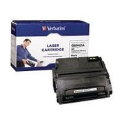 Verbatim® 95382 Black 10000 Pages Yield Remanufactured Toner Cartridge for HP LaserJet 4250/4350 Series Laser Printer