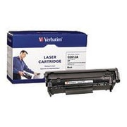 Verbatim® 95387 Black 3000 Pages Yield Remanufactured Toner Cartridge for HP LaserJet 1010/3020 Series Laser Printer