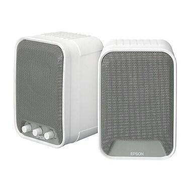 Epson® ELPSP02 30 W Active Speaker, White