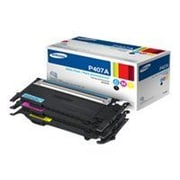 Samsung CLT-P407A CMY 1000 Pages Yield Toner Value Pack for CLP-325W/CLX-3185FW/CLX-3185 Printer