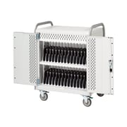 Bretford® Pulse™ L Concrete Steel Notebook Mobile Cart (MDMLAP30-CTAL)