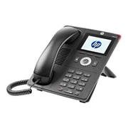 HP ® J9765A 4110 1-Line Desktop/Wall-Mountable IP Phone, Gray