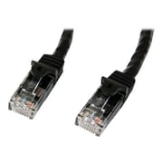 StarTech   N6PATCH5BK Cat6 Patch Cable with Snagless RJ45 Connectors, 5ft, Black