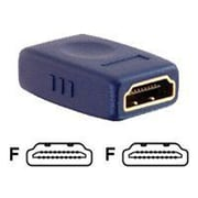 C2G ® Velocity ™ 40970 HDMI Audio/Video Coupler, Blue