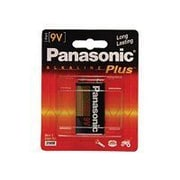 Panasonic Alkaline Plus 9 VDC General Purpose Battery (6AM-6PA/1B)