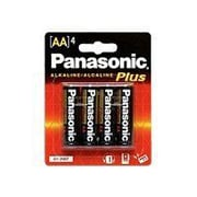 Panasonic Alkaline AA General Purpose Battery Pack (AM-3PA/4B)