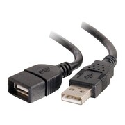 C2G ® 3.3' Type-A USB Female/Male Extension Cable, Black (52106)