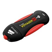 Corsair® Flash Voyager® GT 32GB 100 Mbps Write/240 Mbps Read USB 3.0 Flash Drive, Black/Red