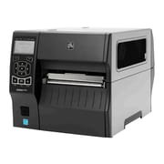 Zebra ZT400 Series Direct/Thermal Transfer Monochrome Label Printer with Tear Bar, 12 ips, 300 dpi (ZT42063-T010000Z)