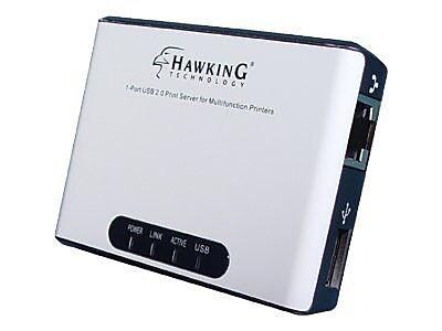 Hawking HMPS1U 1 Port USB 2.0 Print Server For Multifunction Printers
