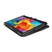 """Logitech® 920-006386 Folio Ultrathin Keyboard/Cover Case For 10.1"""" Samsung Galaxy Tab 4 10.1, Black"""