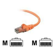 Belkin A3L980-15-ORG-S 15' RJ-45 Male/Male Cat6 Snagless Patch Cable, Orange