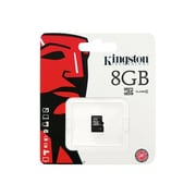Kingston SDC4/8GBSP Class 4 8GB microSDHC Flash Memory Card