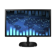 "LG 24MC57HQ-P/US 24""W LED-Backlit LCD Monitor, High Glossy and Textured Black"
