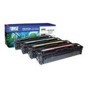 MSE 02-21-54214 Yellow 1400 Pages Toner Cartridge for CP1515n/CP1518ni HP Printer