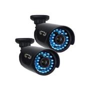 Night Owl CAM-2PK-AHD7 Wired Night Vision Indoor/Outdoor Security Bullet Camera, Black