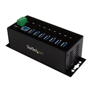 StarTech  7-Port Industrial USB 3.0 Hub, ESD and Surge Protection (ST7300USBME)