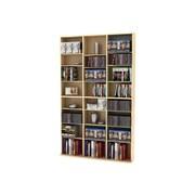 Atlantic® Oskar 756 Multimedia Storage Cabinet, Maple