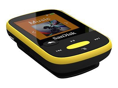 SanDisk  Clip Sport SDMX24-004G-A46Y 4GB Flash MP3
