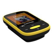 SanDisk ® Clip Sport SDMX24-004G-A46Y 4GB Flash MP3 Player, Yellow