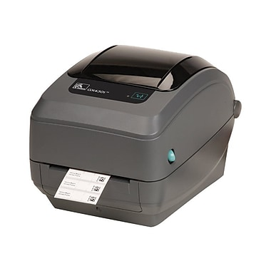 Zebra® GX430t 6 in/s Performance USB Thermal Transfer Printer, 1.25