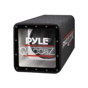 Pyle® PLQB10 500 W Bandpass Subwoofer Enclosure System, Blue/Black