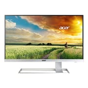 "Acer® S277HK 27"" 4K UHD Widescreen LED LCD Monitor, White"