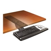 3M™ Adjustable Keyboard Tray With Sit/Stand Easy-Adjust Arm, Black