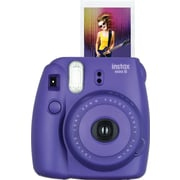 Fujifilm Instax Mini 8 Camera with 10 Exposures, Grape