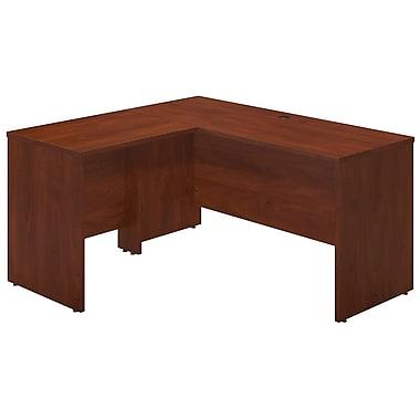 Bush® Business Westfield Elite 60W x 24D Desk Shell with 30W Return, Hansen Cherry