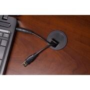 Bush Business Westfield Elite 60W x 36D Bowfront Desk Shell with Credenza, Hansen Cherry