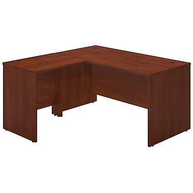 Bush® Business Westfield Elite 60W x 30D Desk Shell with 30W Return, Hansen Cherry