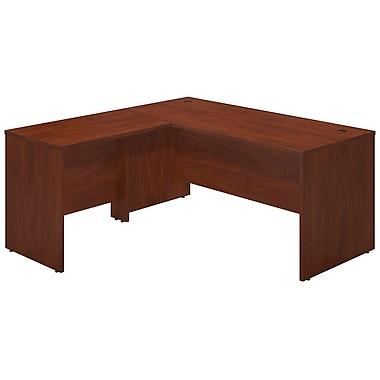 Bush® Business Westfield Elite 66W x 30D Desk Shell with 36W Return, Hansen Cherry