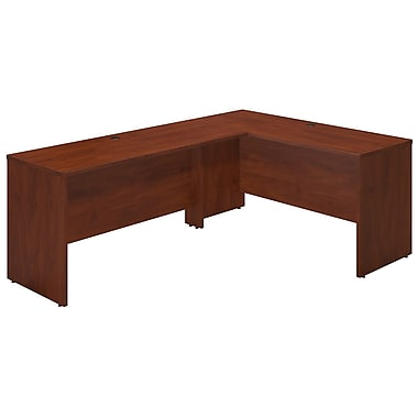 Bush® Business Westfield Elite 60W x 24D Desk Shell with 60W Return, Hansen Cherry