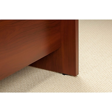 Bush® Business Westfield Elite 60W x 24D C Leg Desk with 36W Return, Hansen Cherry