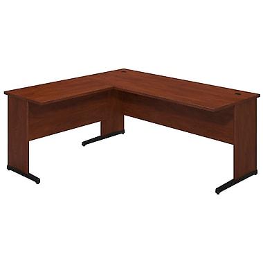 Bush® Business Westfield Elite 72W x 30D C Leg Desk with 36W Return, Hansen Cherry