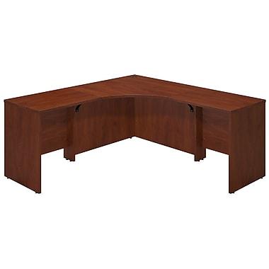 Bush® Business Westfield Elite 42W x 42D Corner Desk Shell with (2) 30W Returns, Hansen Cherry