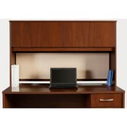 Bush Business Westfield Elite 72W x 30D C-Leg Desk with Hutch, Hansen Cherry