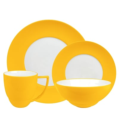 Waechtersbach Uno 16 Piece Dinnerware Set; Curry WYF078275581159