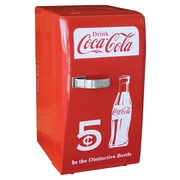 Koolatron Coca Cola 12-Can Retro Compact Refrigerator