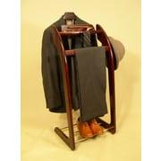 Proman Windsor Wardrobe Valet Stand; Mahogany